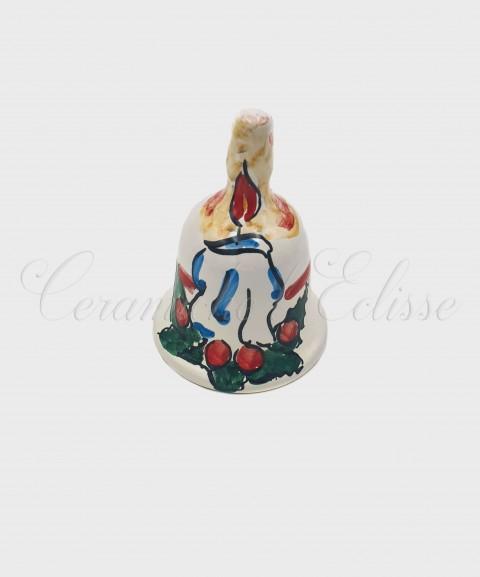 Campanella Natalizia in Ceramica di Vietri Candela