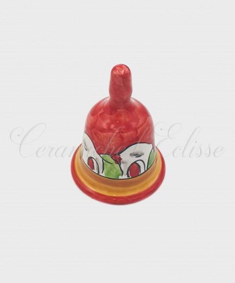 Campanella da poggio in Ceramica di Vietri Casette