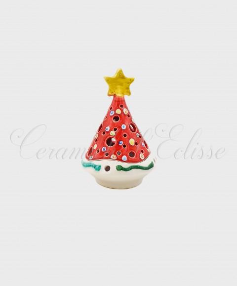 Lanterna Natalizia ad Albero di Natale in  Ceramiche di Vietri