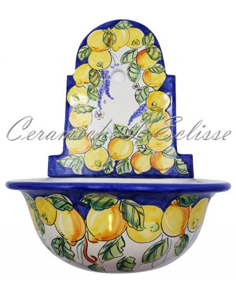 Lavabo in Ceramica di Vietri
