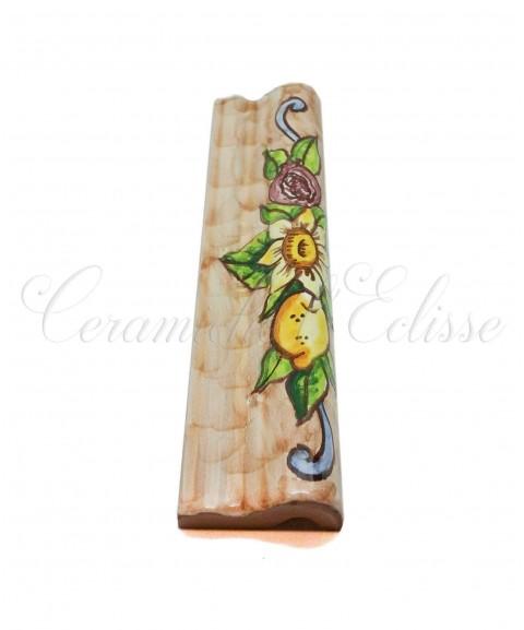 Toro london bordo piastrelle ceramica di vietri austria beige laterale