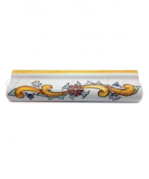 Toro london bordo piastrelle ceramica di vietri baronetto