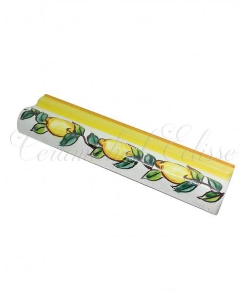 Toro london bordo piastrelle ceramica di vietri limoni