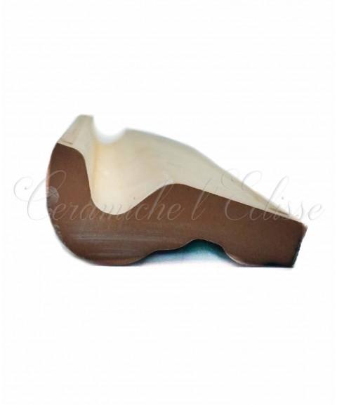 Toro london bordo piastrelle ceramica di vietri curva