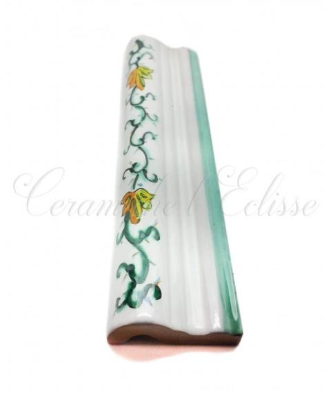 Toro london bordo piastrelle ceramica di vietri lungo