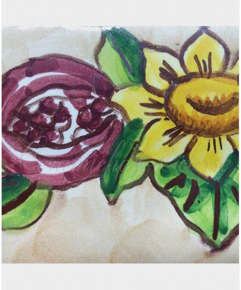 Cimasa - Listello Piastrella in Ceramica di vietri particolare austria