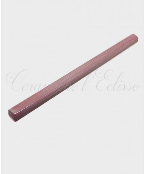 Listello Matita Piastrella in ceramica di Vietri 1x20cm rosa